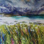 Rain Drenched Sand, Iona