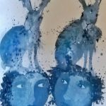 The Blue Hare Twins