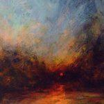 River, Low Sun