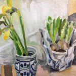 Daffodils and Hyacinth Bulbs