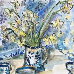 Blue and White Still Life