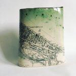 Portobello Map Vase
