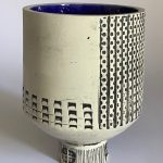 Architectural Vessel Blue
