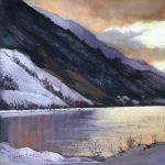 Spring Snows By Lochside