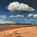 Summer Clouds Over Elie