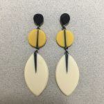 Long Leaf Drop Earrings