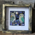 Pearly Moon Owls