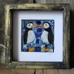 Willow Pattern Puffins