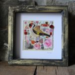 Pink Rose Goldfinch