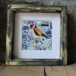 Willow Pattern Goldfinch