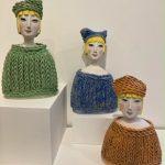 Woolly Jumper ceramic Sculptures