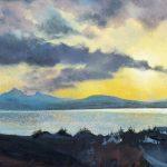 Evening Clouds, Skye
