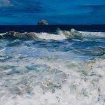 Foaming Sea, Bass Rock